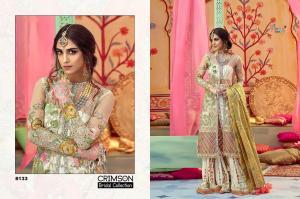 Shree Fabs Crimson Bridal Collection 8133