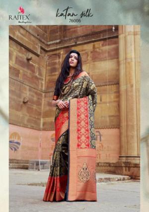 Rajtex Saree Katan Silk 76006