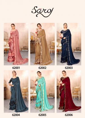 Saroj Saree HotLady 62001-62006