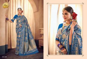 Raj Sanskar Queen Brocade Silk 606