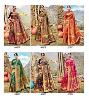 Lifestyle Saree Shivalika 60901-60906