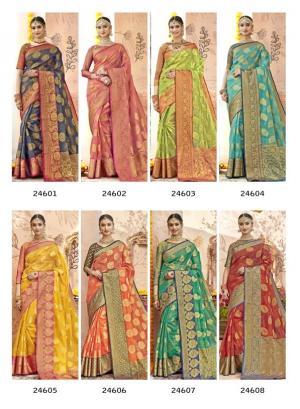 Triveni Saree Gulista 24601-24608