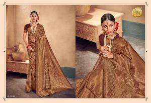 Raj Sanskar Queen Brocade Silk 608
