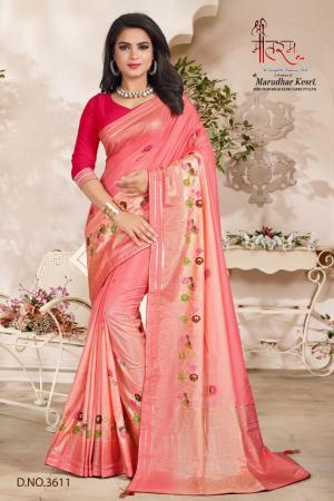Shree Maataram Rajwadi Silk 3611