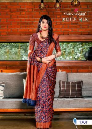 Manjubaa Meher Silk 1701