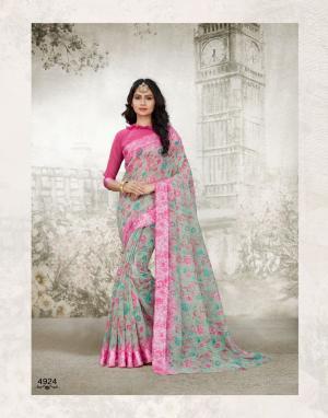 Shangrila Saree Kanchan 4924
