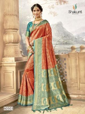 Shakunt Saree Vedantika 60503