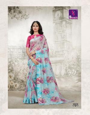 Shangrila Saree Kanchan 4929