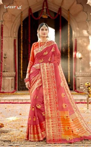 Lifestyle Saree Kavita 54592