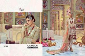 Shree Fabs Crimson Bridal Collection 8136