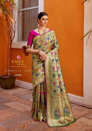 Rajtex Komalya Silk 87002