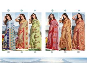 Saroj Saree Jal Tarang 77001-77006