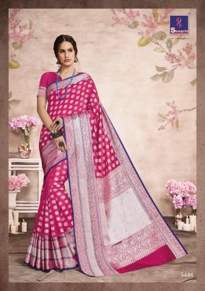Shangrila Saree Aashna Silk 5448