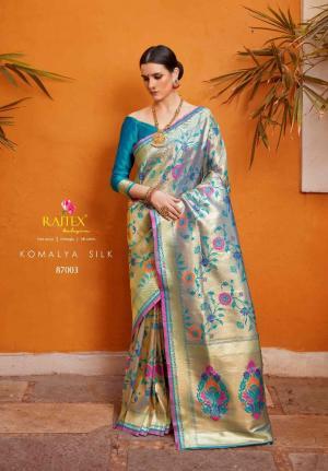 Rajtex Komalya Silk 87003