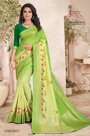 Shree Maataram Rajwadi Silk 3612