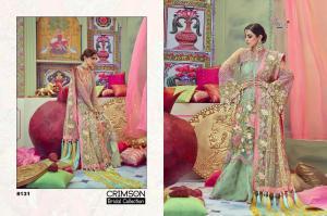Shree Fabs Crimson Bridal Collection 8131