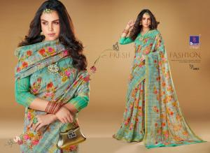 Shangrila Saree Kajal Linen 4883