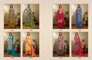 Kessi Fabrics Ramaiya Alfaaz 10051-10058