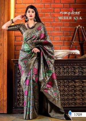 Manjubaa Meher Silk 1709