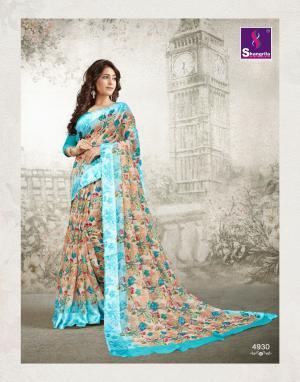 Shangrila Saree Kanchan 4930