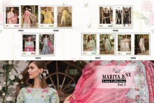 Shree Fabs Mariya B Lawn Collection 1631-1638