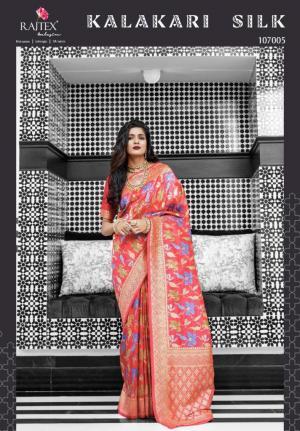 Rajtex Saree Kalakari Silk 107005