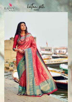 Rajtex Saree Katan Silk 76005