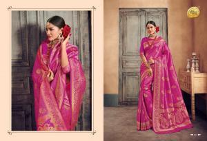 Raj Sanskar Queen Brocade Silk 603