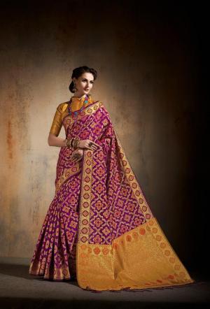 Shangrila Saree Saanvi Silk 5436