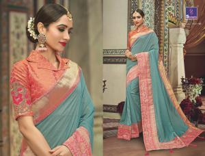 Shangrila Saree Manyavar Silk 8501