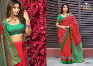 Varsiddhi Fashions Mintorsi Keshar Cotton 11906 B