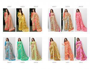 Shangrila Saree Rayesha Cotton 4901-4912