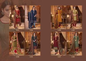 Mrigini Pashmina Collection 1101-1108