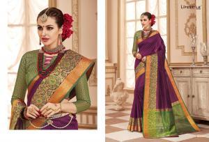 Lifestyle Saree Resham Silk 59221
