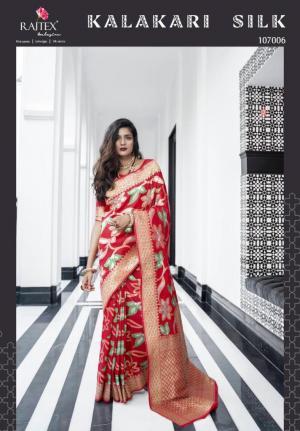 Rajtex Saree Kalakari Silk 107006