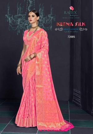 Rajtex Saree Keena Silk 72005