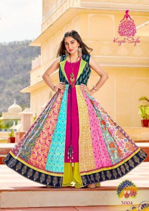 Kajal Style Fashion Lakme 3004