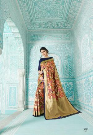 Shangrila Saree Paithani 5611