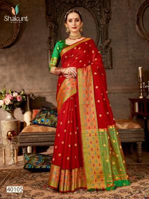 Shakunt Saree Nirmit 40105