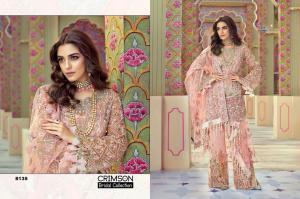 Shree Fabs Crimson Bridal Collection 8135