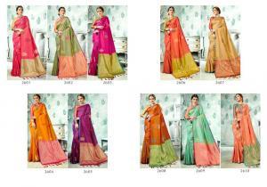Vaamika Fashions Parnica Silk 2601-2610