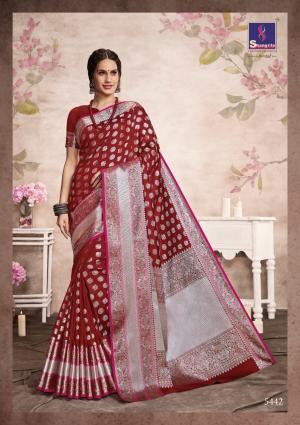 Shangrila Saree Aashna Silk 5442