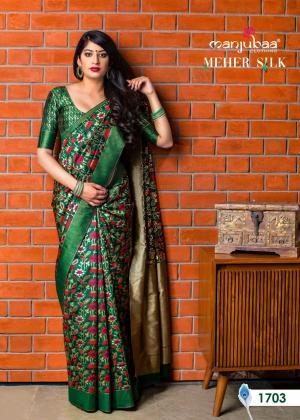 Manjubaa Meher Silk 1703