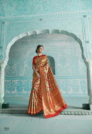 Shangrila Saree Paithani 5616