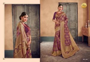 Raj Sanskar Queen Brocade Silk 601