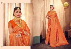 Raj Sanskar Queen Brocade Silk 609
