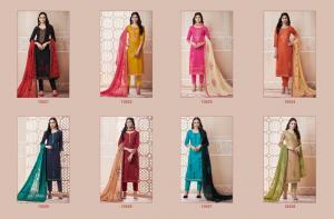 Kessi Fabrics Ramaiya Gehana 10021-10028