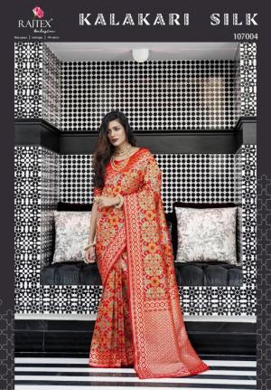Rajtex Saree Kalakari Silk 107004