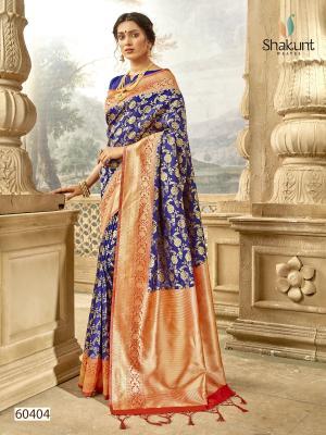 Shakunt Saree Meenal 60404