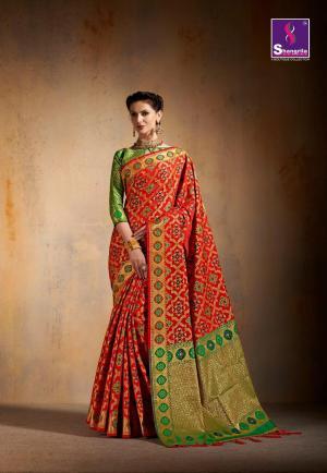 Shangrila Saree Saanvi Silk 5431